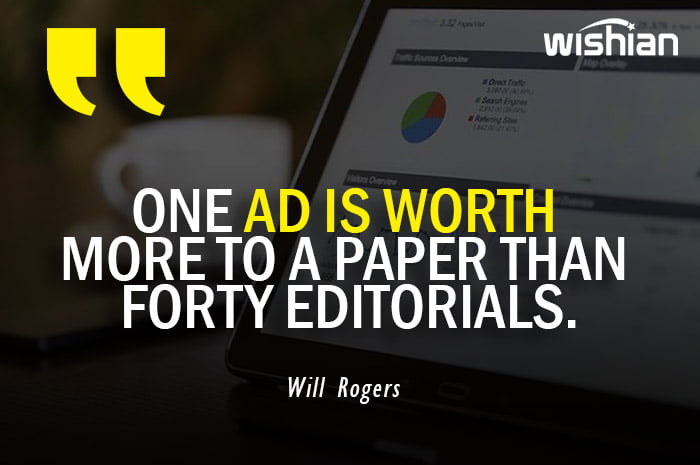 Will Rogers Quotes on Advertisements Worthiness