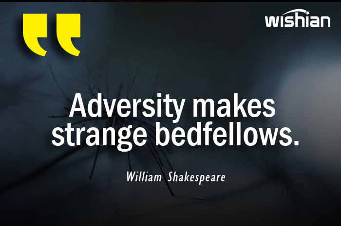 William Shakespeare Quotes about Adversity