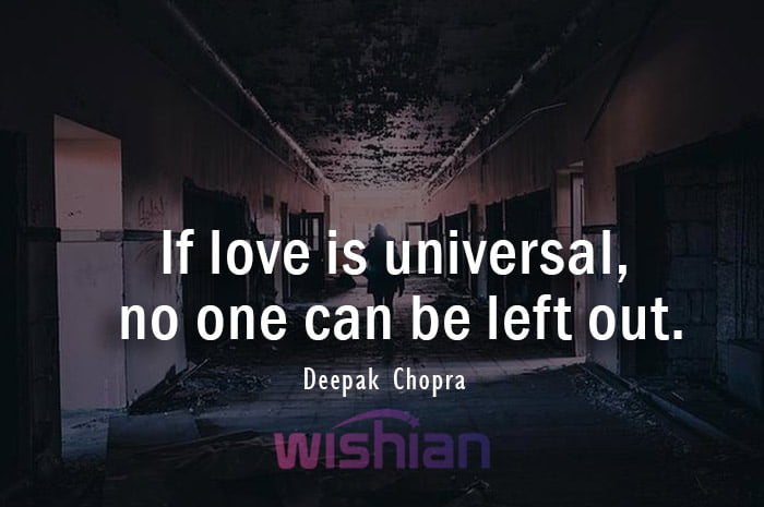 abandoned thoughts and quotes by Deepak Chopra
