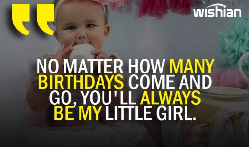 Evergreen Happy Birthday wish for daughter from Parents
