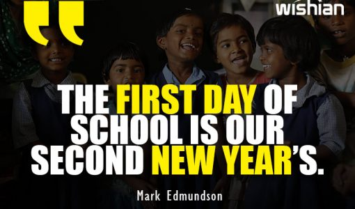 First day of school is our second new year Quotes by Mark Edmundson