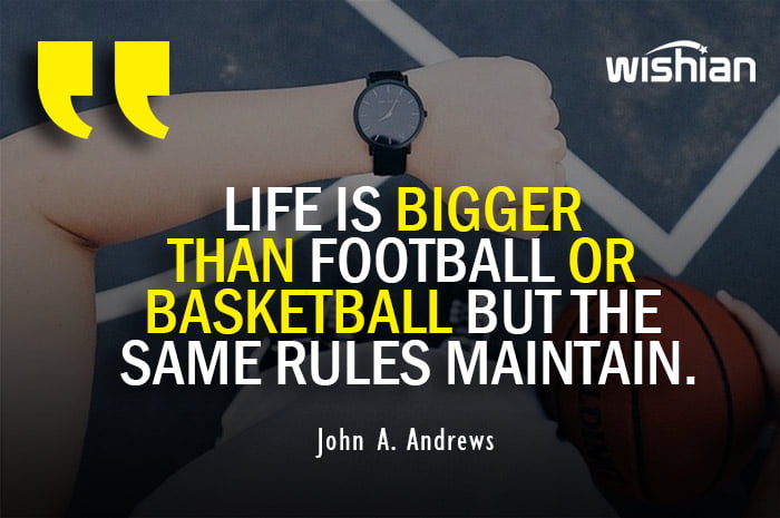 Funny Quotes on Basketball about life rules