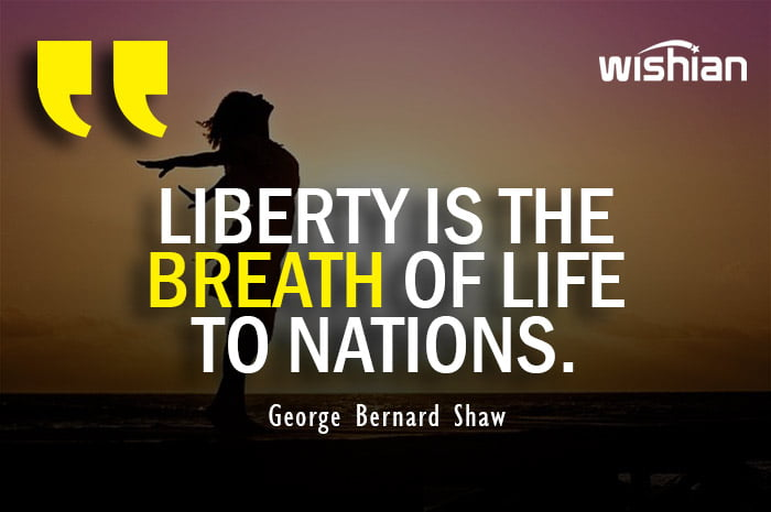 George Bernard Shaw Quotes about Liberty and Freedom