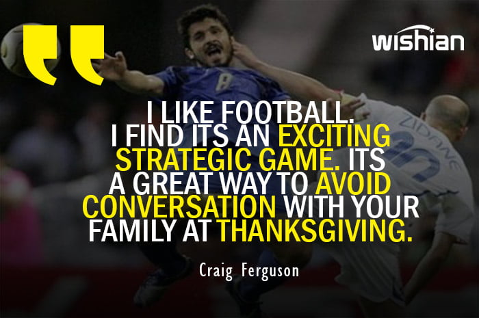 Hillurious Funny Soccer Quotes by Craig Ferguson