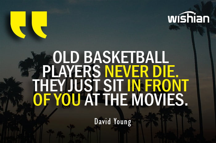 Old Basketball Players Quotes by David Young