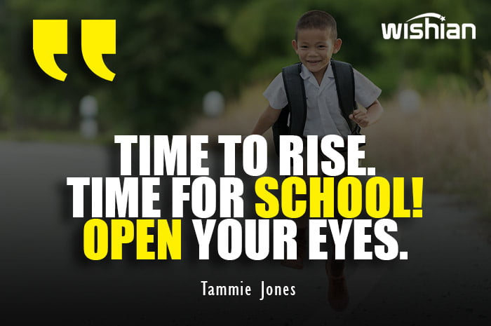Rhyme for going to school Quotes by Tammie Jones