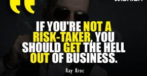 Professional Business Quotes by Ray Kroc